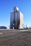 Chalmers & Borton Construction Company-Builders Grain Elevators.