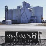 Brule, NE old grain elevator.
