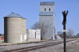 Palisade, NE old grain elevator.