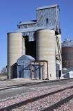 Beverly, NE old grain elevator.