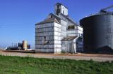 Turpin, OK old grain elevator.