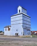 Guymon, OK old grain elevator.