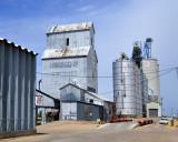 Chapman, NE grain elevators.