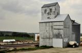 Dunlap, IA old grain elevator.