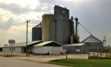 Dunlap, IA old Coop grain elevator.