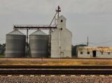 Dow City, IA old grain elevator.