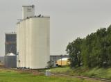 Arcadia, IA grain elevators.