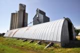 Allendorf, IA grain elevators.