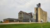 Highview, IA grain elevators.
