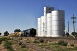 Nunn, CO grain elevator & the CFD special train.