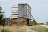 Crawford, NE old grain elevator.