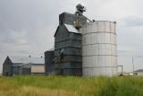 Hay Springs, NE old grain elevator.