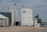 Hay Springs, NE all steel grain elevator.