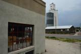 Hay Springs, NE concrete grain elevator.