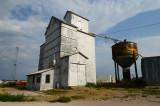 Gordon, NE old grain elevator.