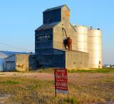 Sterling, CO old grain elevator.