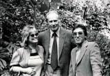 Nancy Clendaniel w George Martin & writer, Frank Cotolo