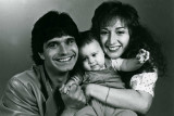 Laurence, Baby Nico & Hope Juber 1982
