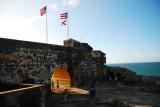 View of El Morro Fort, OSJ