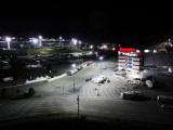 Night view of the track and the dragway from our perch.