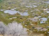 Floor of the Raro Kau crater