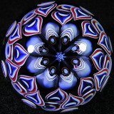 Jet Flower Size: 1.50  Price: SOLD