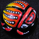 Fire Beetle Size: 1.13 Price: SOLD