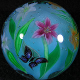 Tri-Lilies and Butterflies  Size: 1.54  Price: SOLD