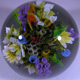 Honey Cone Bouquet with Honey Bees  Size: 4.01 Price: SOLD
