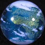 Glass Globe Size: 1.42 Price: SOLD