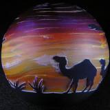 Purple Sahara Sunset Size: 3.43 Price: SOLD