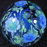 Paeonies and BFlies Size: 1.41 Price: SOLD