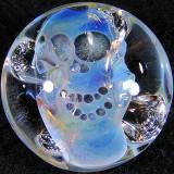 Bob Snodgrass, Skull Button Size: 1.01 x 0.60 Price: SOLD