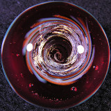 Robert Bank, Cranberry Funnel Cloud Size: 1.08 Price: SOLD