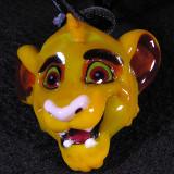 Loren Stump, Simba Size: 1.54 W x 1.47 H Price: SOLD