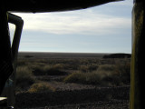 Door view . . . somewhere out there is the Sea of Cortez and the mouth of the Colorado river