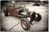 1931 Ford with Cadillac Engine