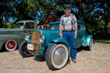 1930 Ford Model A with Roy Drapal