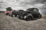 3 Fords - 1940, 1934, and 1936