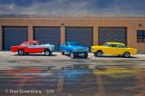 1956 Chevy, 1963 Nova, 1955 Chevy