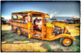 1932 Ford School Bus and Occupants