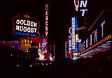 old Vegas at night
