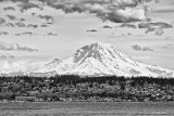 Referred to as The Mountain by locals; Mt. Rainer, WA