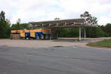 Abandoned petrol stations