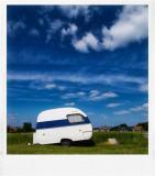 Happy caravan looking at the beatifull clouds!