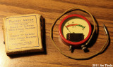 Vintage Radio Pocket Meter