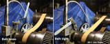 Flat belt tension