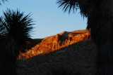First lights of Red Rock Canyon