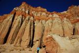 A Size Comparison of Red Cliffs