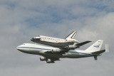 Space Shuttle Discovery Flyover of the Washington, DC Metro Area